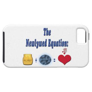 Ecuación del recién casado iPhone 5 fundas