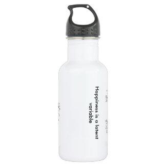 ecuación estructural que modela la botella de agua