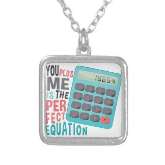 Ecuación perfecta colgante cuadrado