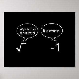 Ecuaciones complejas póster
