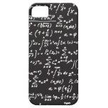 Ecuaciones de la matemáticas de la pizarra iPhone 5 carcasa