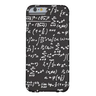 Ecuaciones de la matemáticas de la pizarra funda de iPhone 6 barely there