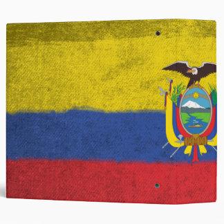 Ecuador 3 Ring Binder