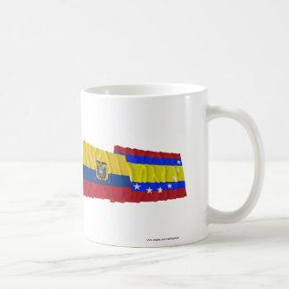 Ecuador and Loja waving flags Coffee Mug