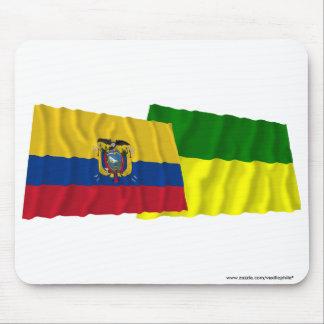 Ecuador and Morona-Santiago waving flags Mouse Pad