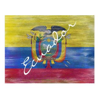 Ecuador apenó la bandera postales