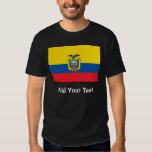Ecuador - bandera del Ecuadorian Camisas