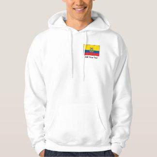 Ecuador - bandera del Ecuadorian Jersey Encapuchado