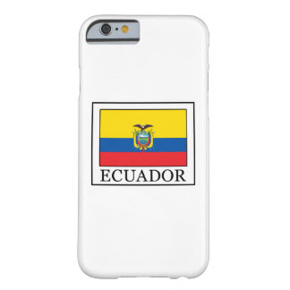 Ecuador Barely There iPhone 6 Case
