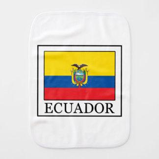 Ecuador Burp Cloth