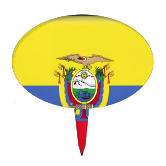 Ecuador Cake Toppers