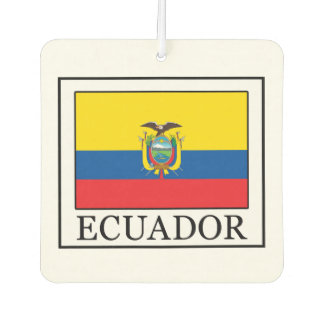 Ecuador Car Air Freshener
