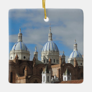 Ecuador - Cathedral of the Immaculate Conception Ceramic Ornament