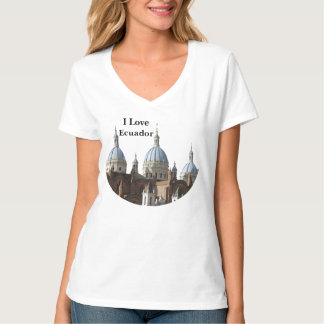 Ecuador - Cathedral of the Immaculate Conception T-Shirt