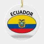 Ecuador Christmas Tree Ornament
