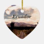 Ecuador Christmas Tree Ornaments