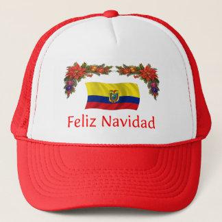 Ecuador Christmas Trucker Hat