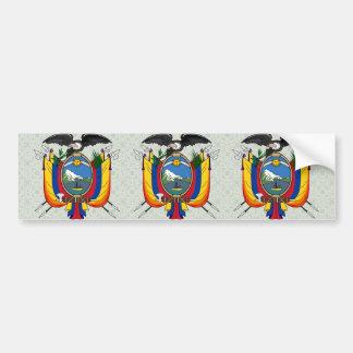 Ecuador Coat of Arms detail Car Bumper Sticker