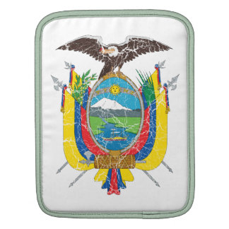 Ecuador Coat Of Arms Sleeves For iPads