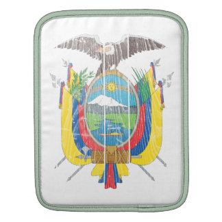 Ecuador Coat Of Arms iPad Sleeve