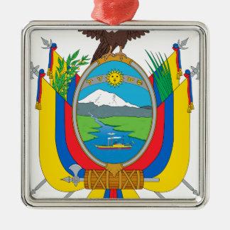 Ecuador Coat of Arms Metal Ornament