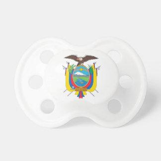 Ecuador Coat of Arms Pacifier