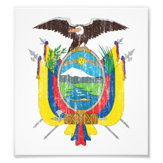 Ecuador Coat Of Arms Photo Print