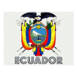 Ecuador Coat of Arms Postcard