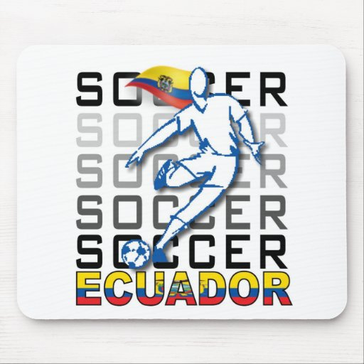 Ecuador Copa America futbol argentina 2011 Mousepad