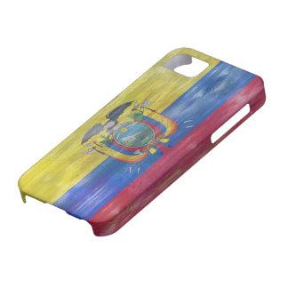 Ecuador distressed flag iPhone SE/5/5s case
