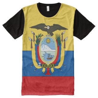 Ecuador Flag All-Over Print Shirt
