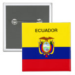Ecuador flag button.