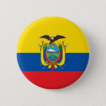 "Ecuador Flag Button<br><div class=""desc"">Button with the Flag of Ecuador. Prendedor con la bandera de Ecuador.</div>"