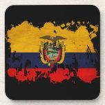Ecuador Flag Coaster