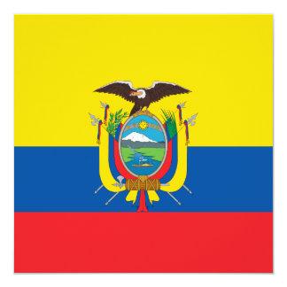 Ecuador Flag Invitation