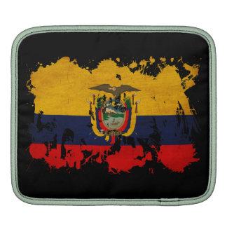 Ecuador Flag iPad Sleeve