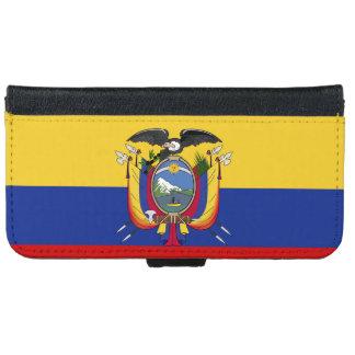 Ecuador Flag iPhone 6/6s Wallet Case
