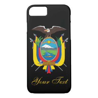 Ecuador Flag iPhone 7 Case