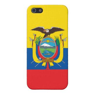 Ecuador Flag iPhone Cover For iPhone SE/5/5s