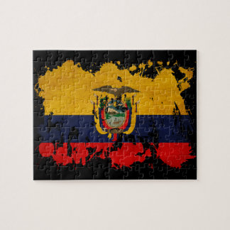 Ecuador Flag Jigsaw Puzzle