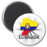 Ecuador Flag Map 2.0 Magnets