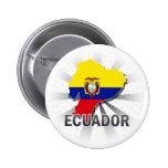 Ecuador Flag Map 2.0 Pins