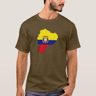Ecuador flag map T-Shirt