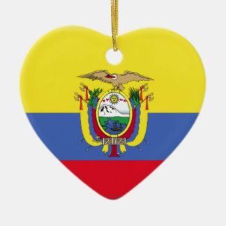 Ecuador Flag Ornament