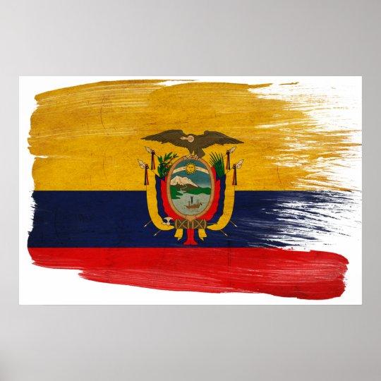 Ecuador Flag Posters