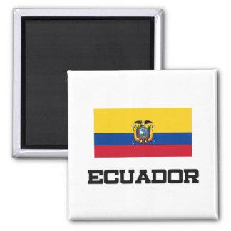 Ecuador Flag Refrigerator Magnet