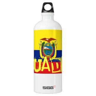 Ecuador flag SIGG traveler 1.0L water bottle