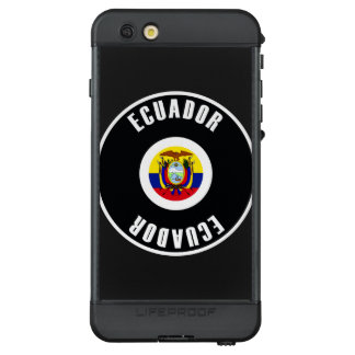 Ecuador Flag Simple LifeProof NÜÜD iPhone 6s Plus Case