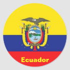 Ecuador Flag stickers