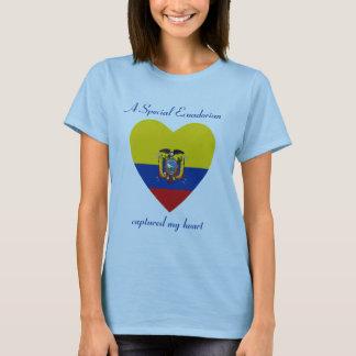 Ecuador Flag Sweetheart T-Shirt